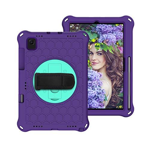 Caja Protectora de la Tableta para Samsung Galaxy Tab S5E 10.5'Tablet Case 2019, para SM-T720 / T725 TRABAJE DE PEQUEÑO Y Cuerpo LIGHTHOULY RUYGED, ROTING ROTANTE, APARZO DE Muy