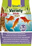 TETRA Pond Variety Sticks - Aliment Complet en sticks pour Poisson de Bassin - 25L