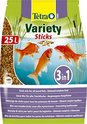 TETRA Pond Variety Sticks - Aliment Complet en sticks...