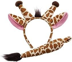 giraffe ears and tail