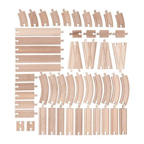 Ikea Set von 50 Stück Holz LILLABO