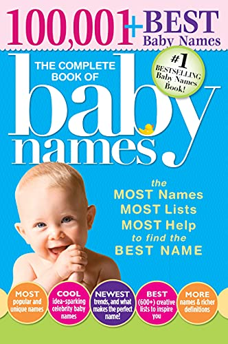 Compare Textbook Prices for The Complete Book of Baby Names: The #1 Baby Names Book with the Most Unique Baby Girl and Boy Names Gifts for Expecting Mothers, Fathers, Parents 3 Edition ISBN 0760789236686 by Bolton, Lesley