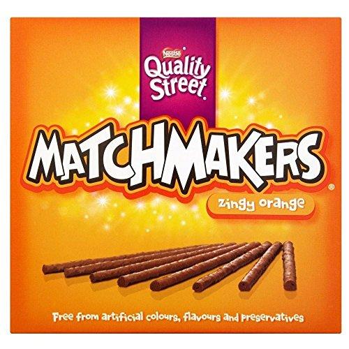 Quality Street Matchmakers Zingy Orange 130g