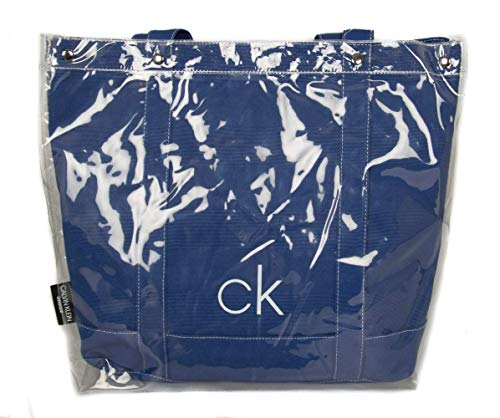 Calvin Klein Borsa mare spiaggia piscina swimwear CK articolo KW0KW00725 TRANSPARENT BEACH TOTE
