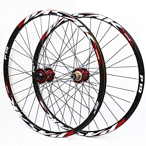 JK MTB Mountain Bike Soft Tail Downhill AM Thru Axis Axle Sealed Bearing Wheels 26/27.5/29inch Wheelset 20110mm 12142mm Rim (27.5inch)