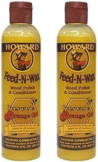 Howard Feed-N-Wax(フィーデンワックス)×2本セット (8oz./236ml×2本=472ml)