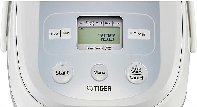 White Tiger JBX-B Series Micom 10 Cup Rice Cooker with Tacook ...