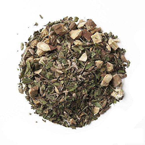 Aromas de Té Infusión de Menta, Regaliz y Anís muy Digestiva Natural 100%, 50 GR