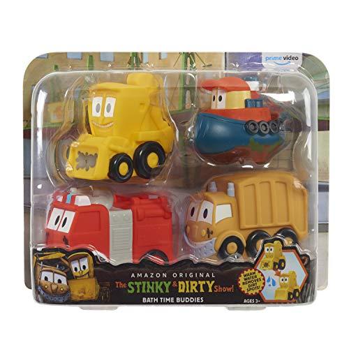 The Stinky & Dirty Show Bath Time Buddies 4 Piece Set - Amazon Exclusive