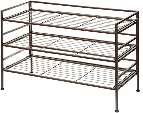 AmazonBasics 9-Pair Shoe Rack