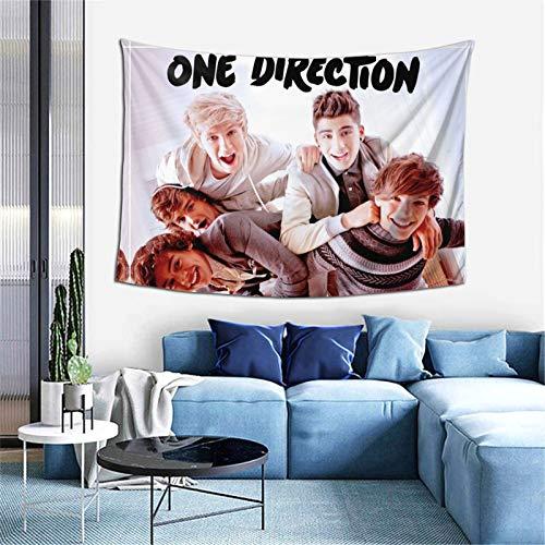 DGAGD One Direction aus hochwertigem Stoff. Dieser Wandteppich hängt und lässt sich leicht zusammenklappen für jede Szene und Jahreszeit. 40