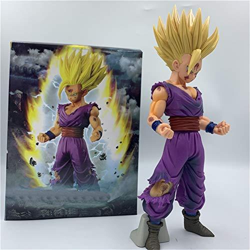 23cm Dragon Ball MSP Kakarotto Son Gohan Super Saiyan Anime Figur PVC Modell Statue Spielzeug Action Figur Cartoon Puppen