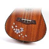 SUPVOX 2 Piezas Pegatinas de Panel de Guitarra Ukelele Pasters Calcomanías de Bajo Suministros Musicales