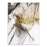 LiMengQi2 Decoración de la Sala de Estar Retro Moderna impresión Abstracta Imagen de la Pared...