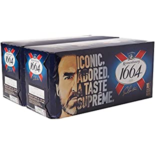 Kronenbourg 1664 Lager Beer Cans, 20 x 440 ml