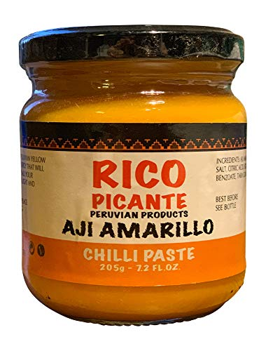 Pasta de Aji Amarillo