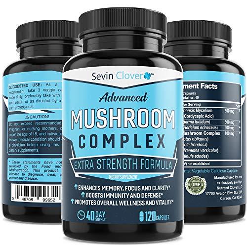 Mushroom Supplement Lions Mane Cordyceps review