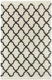 Mint Rugs Pearl Alfombra, Polipropileno, Crema/Negro, 120 x 170 cm