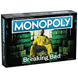 Monopoly Breaking Bad | Based on AMC's Breaking Bad Show | Collectible Monopoly Game Featuring Familiar Locations and Iconic Moments