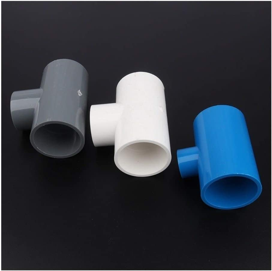 3pcs 63 75mm To 20~63mm PVC Sales Tee Reducing Garden Attention brand Joints Irrigatio