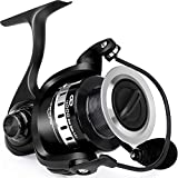Fishing Reel, 9 +1BB Spinning Reel, Light Weight, Ultra Smooth Powerful,CNC Aluminum Spool for Freshwater/Saltwater Fishing