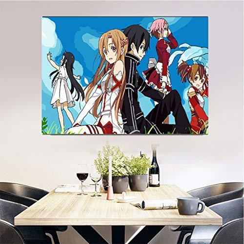Puzzle 1000 Piezas Pintura Decorativa Estilo Anime Puzzle 1000 Piezas paisajes Juego de Habilidad para Toda la Familia, Colorido Juego de ubicación.50x75cm(20x30inch)