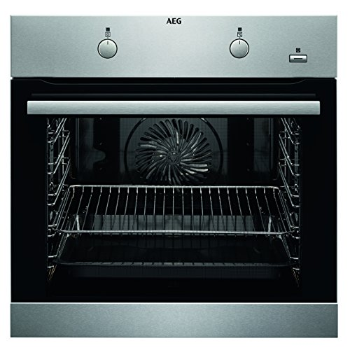 AEG BEB350010M Einbau-Backofen / SteamBake – mit Feuchtigkeitszugabe / Reinigung mit Wasserdampf / Grillfunktion / A