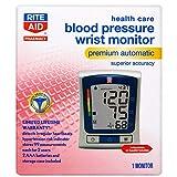 Rite Aid Premium Automatic Wrist Blood Pressure Monitor | Blood Pressure Wrist Cuff