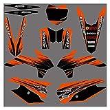 Wjyfexble Calcomanías de la Motocicleta Pegatina para KTM 125 150 200 250 300 350 450 500 SX SXF XC XCF XCW 2013-2015 WYJHN