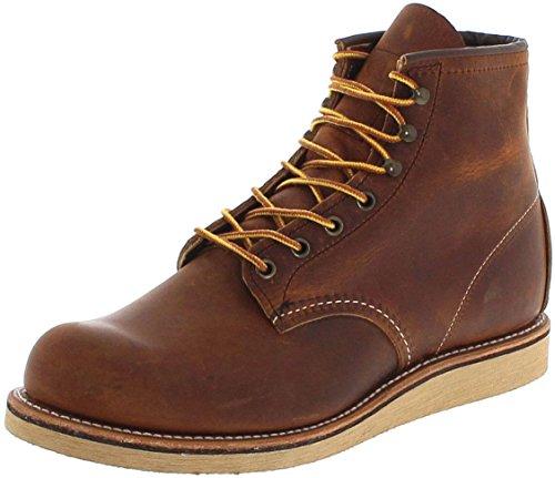Red Wing Shoes Rover 2950 Copper/Herren Schnürstiefel Braun/Work Boots/Chukka Boots, Groesse:47 (13...