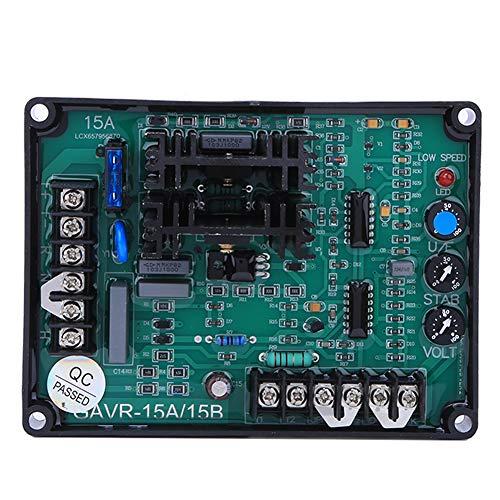 Generador GAVR-15B Regulador de voltaje automático Repuestos de generador sin escobillas con componentes resistentes a altas temperaturas para grupos electrógenos por encima de 120KW