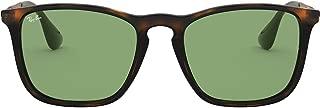 RB4187F Chris Square Asian Fit Sunglasses