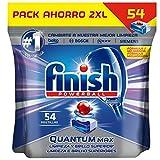 Finish Powerball Quantum Max - Pastillas para el lavavajillas - formato 54 unidades