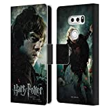 Head Case Designs Officiel Harry Potter Ron Weasley Deathly Hallows VIII Coque en Cuir à...