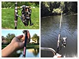PLUSINNO Fishing Rod and Reel Combos Carbon Fiber Telescopic Fishing Rod with Reel Combo Sea Saltwater Freshwater Kit Fishing Rod Kit…