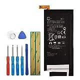 Upplus FB55 - Batteria di Ricambio per Motorola Moto X Force XT1581 XT1585 SNN5958A Bounce con Kit di Attrezzi 3,8 V 3550 mAh