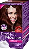 Schwarzkopf Perfect Mousse Permanente Schaumcoloration, 488 Dunkle Beere Stufe 3, 3er Pack (3 x 93...