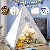 Teepee Play Tent for Kids with G...