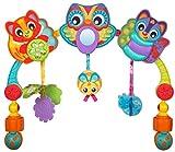 Arca de juego multicolor con divertidos elementos suspendidos y una caja de música, Adecuado desde el nacimiento