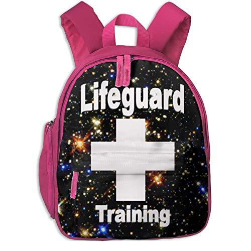 Rucksack,Rettungsschwimmer Kreuz Kinderrucksack, Premium Student Bookbags Für Jungen Mädchen,26x32x10cm