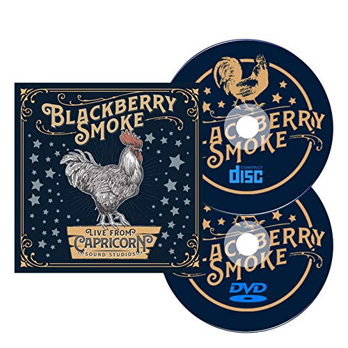 BLACKBERRY SMOKE LIVE AT CAPRICORN SOUND STUDIOS