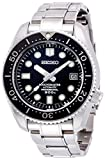 Seiko Men's Prospex Japanese-Automatic Diving Watch with Stainless-Steel Strap, Silver, 20 (Model: SBDX017)