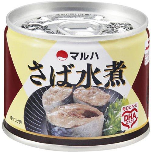 マルハ さば水煮 190g 4缶