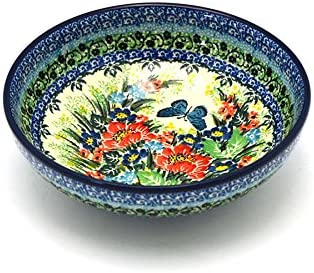 Polish Pottery Bowl - Contemporary Virginia Beach Mall Weekly update Salad U4 Unikat Signature