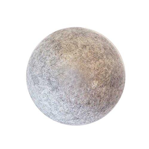 b2c フェルト ドライヤーボール 3個入り(グレー)|乾燥機用ウールボール 洗濯ボール ランドリー ボール 静電気防止 絡み防止 洗濯グッズ