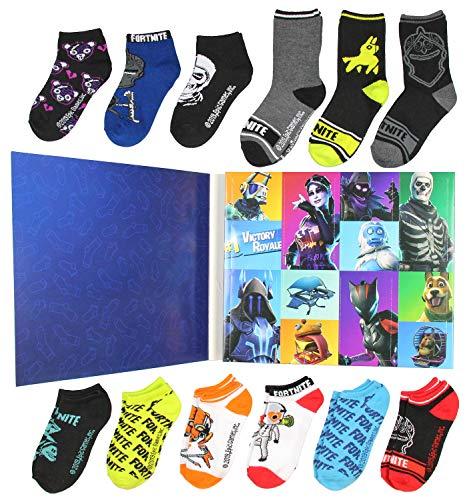 Boys Fortnite 12 Days of Socks Boxed Gift Set (6-8)