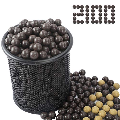 Slingshot Ammo Ball 2100PCS Natural Clay Slingshot Ammo 3/8 inch Biodegradable Clay Ball 9mm-10mm...