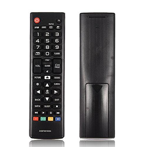 AKB74915304 - Mando a distancia de repuesto para LG Smart TV, duradero, universal, repuesto para LG AKB74915304 HD TV