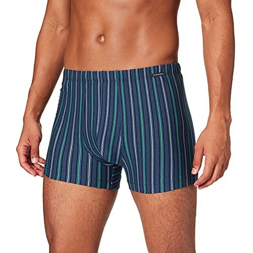 Schiesser Herren Shorts Boxershorts, Jeansblau, 8