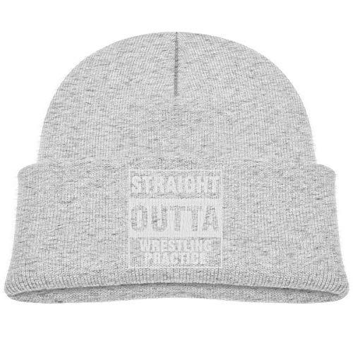 Preisvergleich Produktbild Hxincyu Kids Winter Knitted Hat Straight Outta Wrestling Practice Beanie